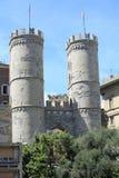 古镇门在热那亚,意大利 免版税图库摄影