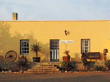 古雅葡萄酒tuinhuis (连栋房屋)在Cradock 图库摄影