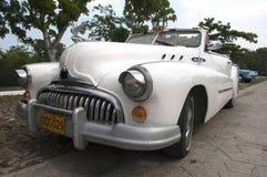 古巴人别克八汽车 免版税库存图片