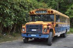 古巴公共汽车 库存图片