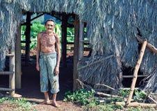古巴农夫 免版税库存图片