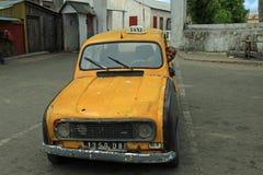 古巴出租汽车 库存照片