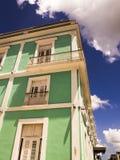古巴古老房子 库存照片