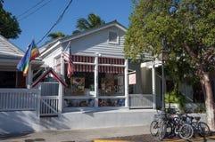 古巴商店在基韦斯特岛 免版税库存照片
