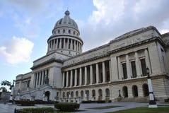 古巴国会大厦 免版税库存图片