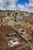 古巴城镇热带的特立尼达 免版税库存照片