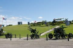 古巴导弹危机武器显示-哈瓦那-古巴 免版税库存图片