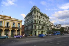 古巴房子 库存照片