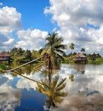 古巴村庄 图库摄影