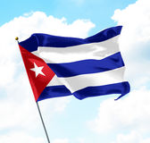 古巴标志 图库摄影