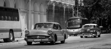 古巴汽车 免版税图库摄影