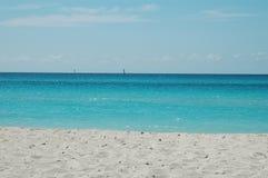 古巴海洋 免版税图库摄影