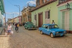 古巴-特立尼达的图片 图库摄影