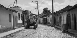 古巴特立尼达 图库摄影