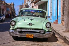 古巴猛拉坦克 免版税图库摄影