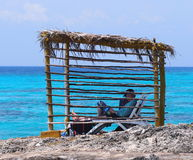 古巴的人们 库存图片