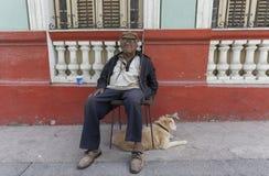 古巴的人们 免版税库存图片