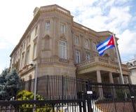 古巴的使馆华盛顿特区的 免版税库存照片