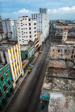 古巴的哈瓦那国会大厦城市scape  库存图片