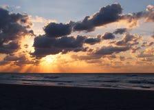 古巴的天空 库存图片