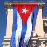 古巴的旗子 库存图片