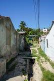 从古巴的都市场面 库存照片