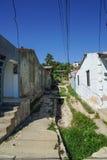 从古巴的都市场面 免版税图库摄影