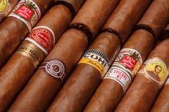 古巴的雪茄 免版税库存图片