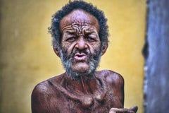 古巴的面孔 免版税图库摄影