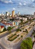 古巴 老哈瓦那 顶视图 总统内容说明书  免版税库存照片