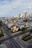 古巴 老哈瓦那 顶视图 总统内容说明书  库存照片