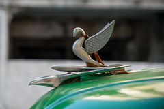 古巴老汽车装饰品02 免版税库存照片