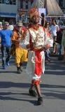 古巴舞蹈演员 库存照片