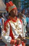 古巴舞蹈演员 库存图片