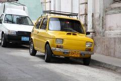 古巴-菲亚特126P 库存照片