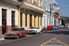 古巴葡萄酒汽车 库存图片