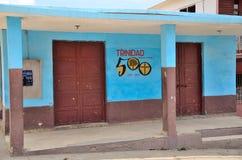 古巴街道特立尼达 免版税库存照片