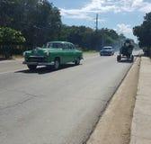 古巴街道 图库摄影