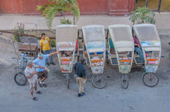 古巴- CamagÃ的¼的图片ey 免版税库存照片