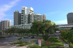 句容公共医院,新加坡 库存照片