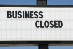 另一企业倒闭 库存图片