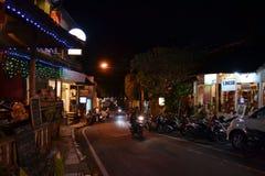 另一夜在Ubud 免版税库存图片