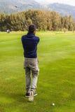 另一次高尔夫球球击 免版税图库摄影