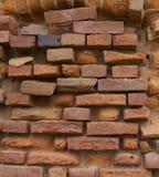 另一砖老墙壁 免版税库存图片