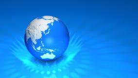 另外地球例证向量查看世界 免版税图库摄影