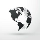 另外地球例证向量查看世界 库存图片