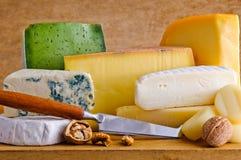 另外干酪食物 免版税库存图片