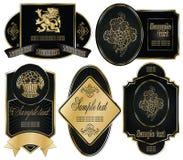 另外构成的金子标记事宜 皇族释放例证