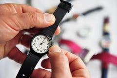 另外样式手表 库存照片