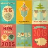 另外的多孔黏土看板卡eps格式以图例解释者包括新年度 库存图片